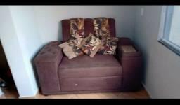Vendo ou troco sofá de 2 e 3 lugares