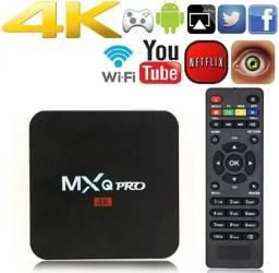 Aparelho De Tv Box Transforme Sua Tv Em Smart 4k 1gb / 8gb