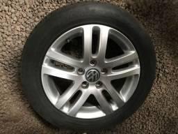 Rodas Jetta aro 16 com pneu