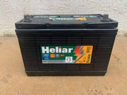 Bateria semi nova 100 AH heliar