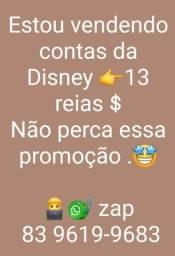 Conta da Disney