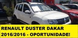 Reserve agora! Renault Duster 1.6 Dakar 2016/2016 com 1 ano de garantia*