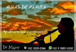 Aulas de música - (saxofone/flauta transversal/flauta doce/harmonica)