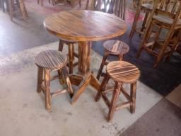 Jogos de mesas e cadeiras de madeira, direto de fábrica