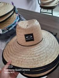 Chapéu de palha estampado JARU