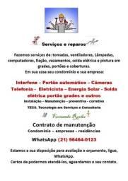 serviços e reparos residenciais