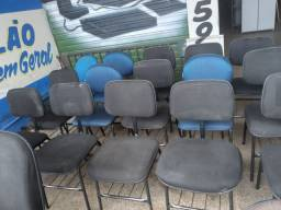 Cadeira estofada fixa execultiva