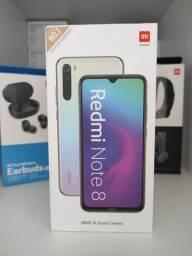 REDMI Note 8 da Xiaomi.. Novo LACRADO Garantia entrega em mãos imediata