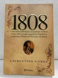 Livro - 1808 - Autor: Laurentino Gomes