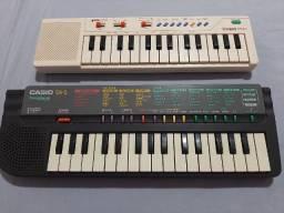 Mini teclados Casio raridades