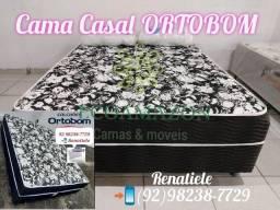 Cama Box Casal Ortobom // FRETE gratis. Mega PROMOÇÃO