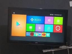 Tv LG LCD 48 polegadas + TV Box