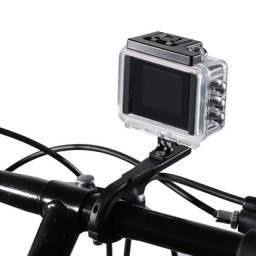 Suporte para guidão bicicleta e moto câmeras GoPro e similares