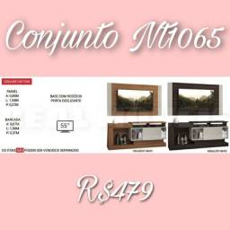 CONJUNRO NT-1065 DE PAINEL + RACK
