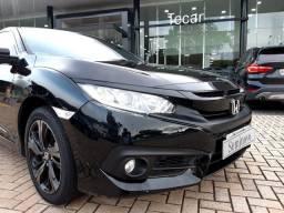 Honda Civic SPORT 18/19 56 mkm com couro aceito troca e financio