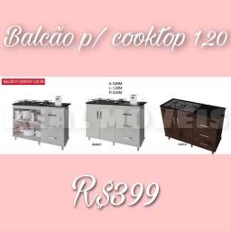 Balcão para cooktop 1,20/Balcão para cooktop 1,20/Balcão