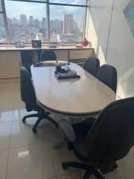 Mesa de Reunião c/ 6 Cadeiras