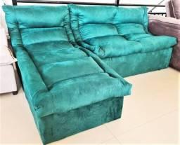 Sofá com Chaise - Promoção de Setembro