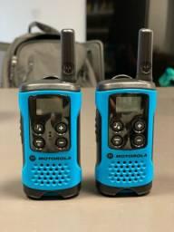 Rádio Motorola talkabout T100 semi novo