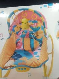 Cadeira De Balanço Para Bebês 0-20 Kg Girafa Multikids Baby -