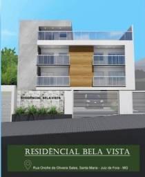 Título do anúncio: Apartamento Garden com 2 dormitórios, 2 vagas de garagem à venda, 80 m² por R$ 209.000 - S