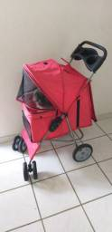 Carrinho de Passeio Pet com Porta Copo para Cães e Gatos aceito picpay