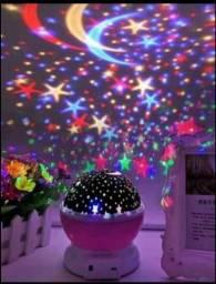Abajur, Luminária, projetor Céu estrelado