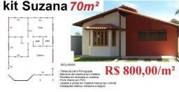 Casas pre fabricadas ou convencionais