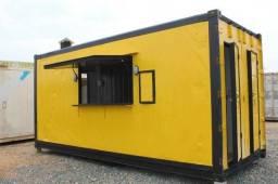Hamburgueria em Container