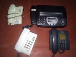 Fax e aparelhos telefônicos