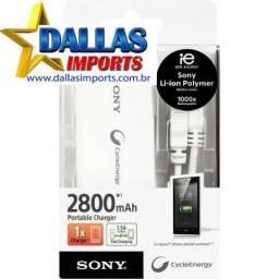 Carregador Portátil Sony 2800mah Branco