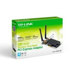 Adaptador Wireless Dual Band AC1300 PCI-Express TP-Link - Loja Fgtec Informática