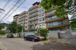 Apartamento quarto e sala com 57 m² por r$ 330.000 - santa cecília - teresópolis/rj