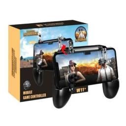 Suporte Gamepad Gatilho L1 R1 W11+ Celular Smartphone Controle Joystick Pubg Free Fire