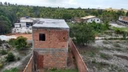 Vendo terreno de 126 m² em Imbassai - Mata de São João - Ba. - Com uma casa em construção