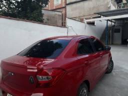 Vendo Ford Ka vermelho - 2016