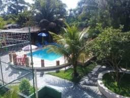 Chácara no litoral sul, com piscina e 2 dormitórios em Itanhaém/SP