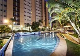 Apartamento 02 quartos com suite - Parque aquático termal 10 piscinas -