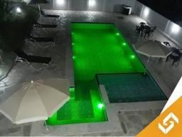 Sobrado c/piscina de aquecimento hibrido, p/natal em Caldas Novas. Cód 1007