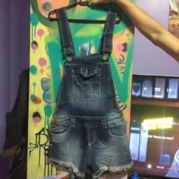 Usado, Macacão jeans comprar usado  Santana