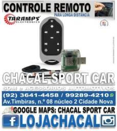 Connect Control Taramps (para som de carro) produtos novos e com nota fiscal