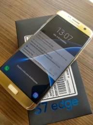 S7 edge dourado so venda 991723144