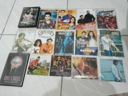 Vendo lote de cds e dvds entre músicas e filmes de todas as categorias