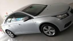 GM cruze sedan 2012-12 LT automático Prata baixo km - 2012