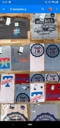 Camisetas primeira 3 por 60,00 tamamho P