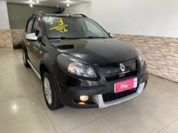 Renault Sandero Stepway Completissimo + Couro + Gnv 2013