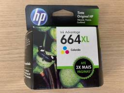 Tinta colorida HP 664 XL