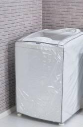 Capa  para máquina de lavar roupa Capa transparente, também tem outras estampas