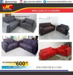 Sofa Luiza  2 e 3 lugares Direto de fábrica   oo