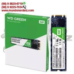 Ssd M2 120GB Sata III 6 Gb/s 545MB/s WD Green 28905 em São Luís Ma